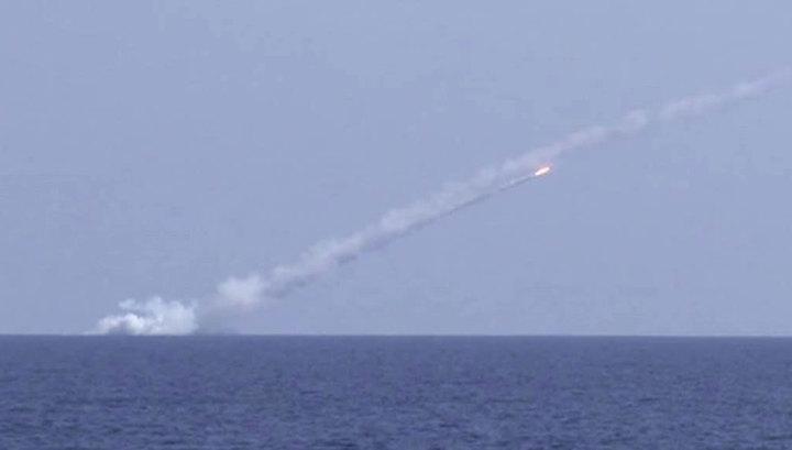 Российские подлодки нанесли удар по террористам в Сирии