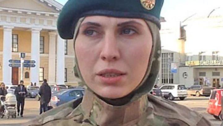 """Под Киевом погибла """"чеченская"""" снайперша батальона """"Киев-2"""""""