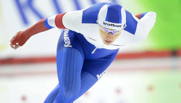 Конькобежка Шихова одержала победу на ЧЕ на дистанции 1000 метров