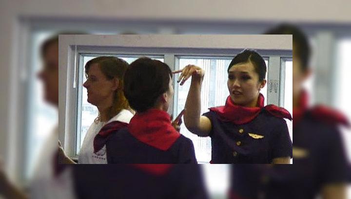 Пассажир пристает стюардессе видео фото 776-41