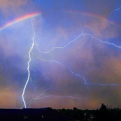 20 тысяч молний обесточили целый штат в Австралии
