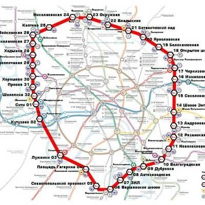 Московское центральное кольцо в течение месяца после открытия будет работать бесплатно