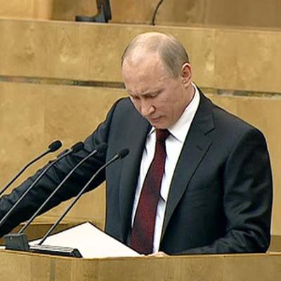 Работу Владимира Путина на посту президента России одобряют 81% россиян