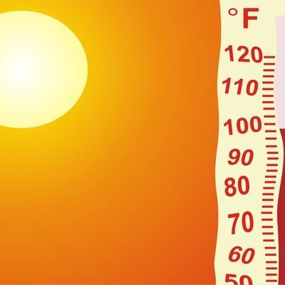 В Кувейте отмечена самая высокая температура на земле