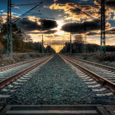 На парижском вокзал Сен-Лазар заблокировано движение поездов