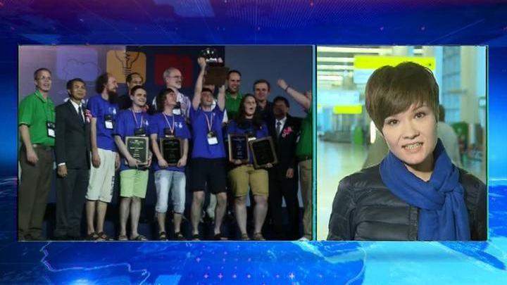 Победители конкурса программистов вернулись в россию