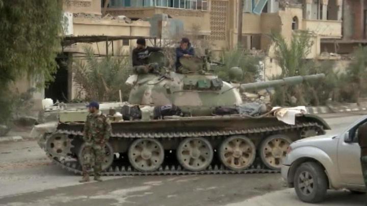 Сирийские власти: жители Пальмиры вернутся в свои дома после разминирования территории города
