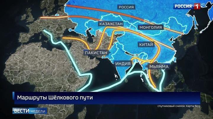 Один пояс один путь и россия