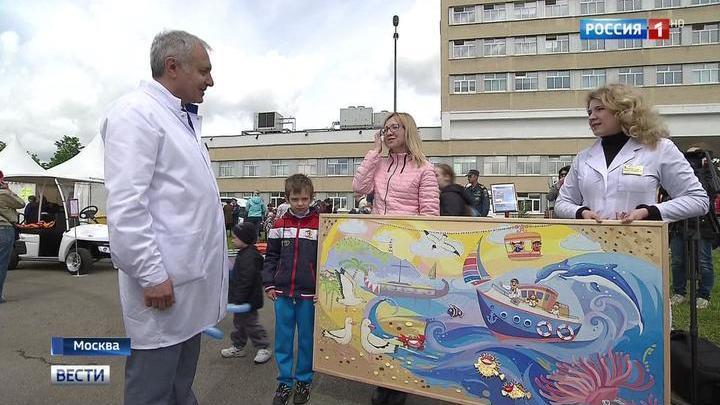 В Тушинской детской больнице проходит фестиваль для детей
