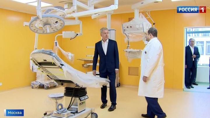 В Морозовской детской больнице открыли новый корпус