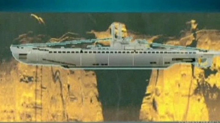 останки немецких подводных лодок