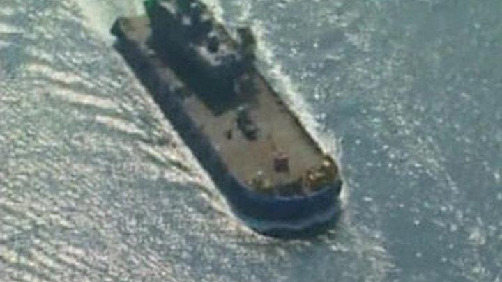 корейская подводная лодка пропала