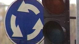 В России предложили изменить правила проезда круговых перекрестков