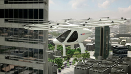 Во Франкфурте показали новый летающий автомобиль