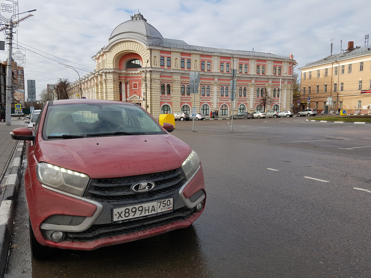 Дневник Lada Xray: на край света ради зимних шин
