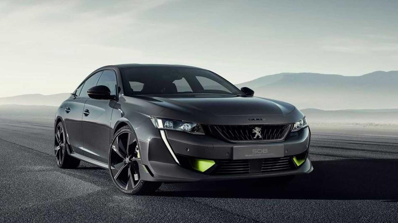 Peugeot построил экстремальныйгибридс использованием'криптонита