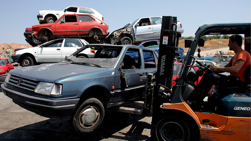 Немцу вернули автомобиль, забытый на парковке 20 лет назад