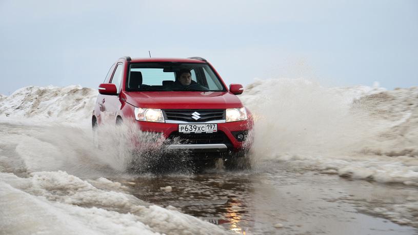Suzuki Grand Vitara: часть 2 (4015 км)