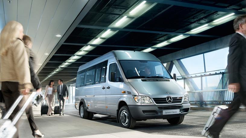 В Нижнем Новгороде остановили сборку фургонов Mercedes-Benz Sprinter