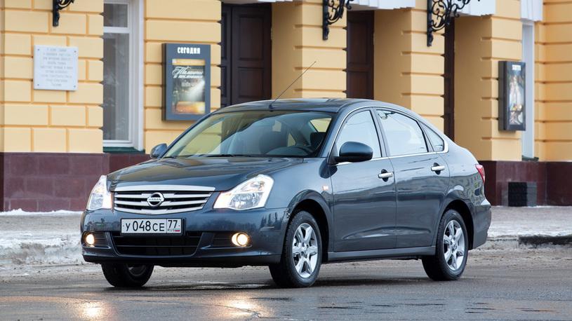 В России прекратили выпуск дешевого седана Nissan Almera