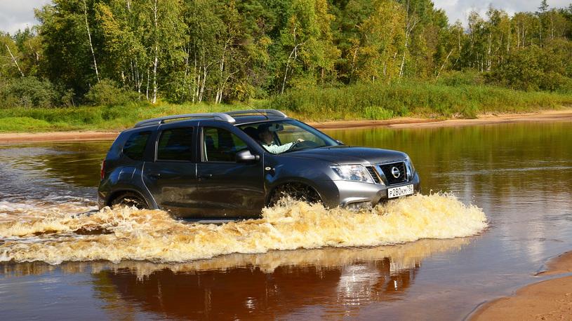 Тест-драйв Nissan Terrano: наценка за национальность
