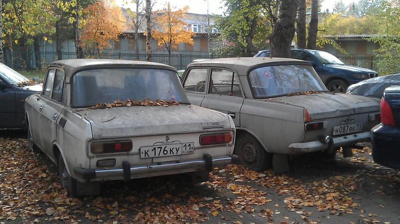 Более половины российского автопарка – без пяти минут автохлам