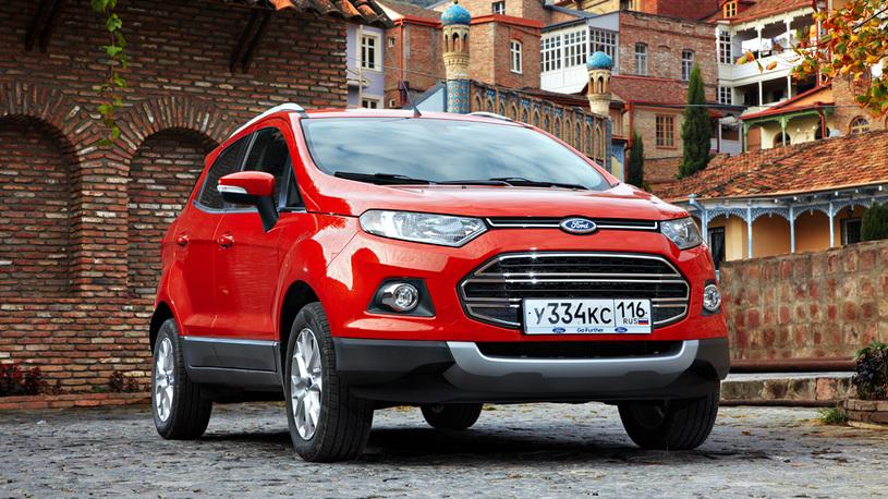 В России отзывают на ремонт кроссоверы Ford