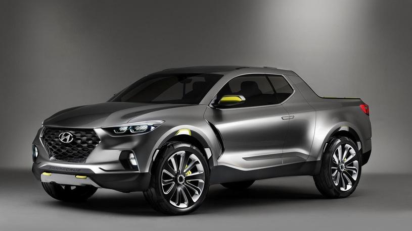 Hyundai готовится выпустить свой первый пикап