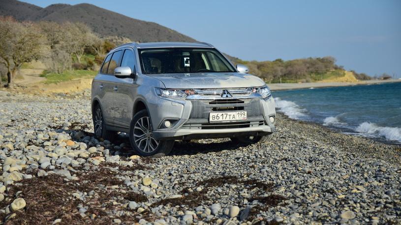Тест-драйв обновленного Mitsubishi Outlander: первый день