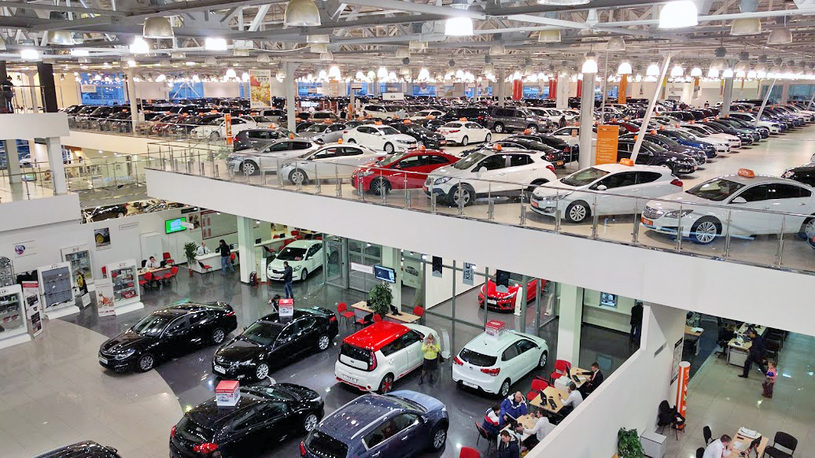 В России продолжают расти продажи новых автомобилей