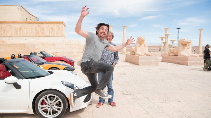 Щедрый гонорар задержал известного актера в культовой передаче Top Gear