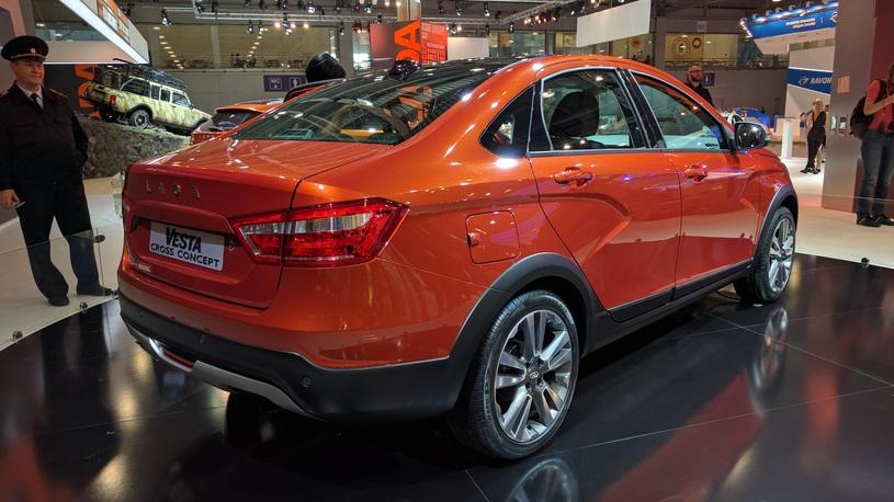 Волжский автомобильный завод  готовится вывести нарынок кросс-седан Лада  Vesta