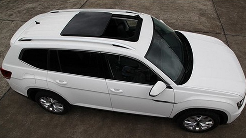 Большой кроссовер Volkswagen: новые фото