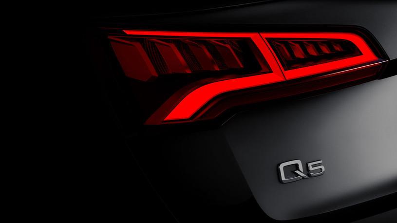 Новейший кроссовер Audi Q5 оснастят пневмоподвеской