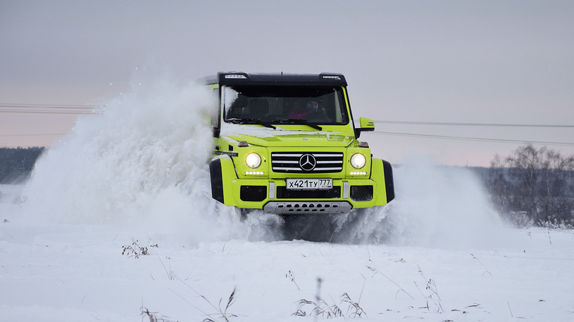 Тест-драйв Mercedes G 500 4x4²: все, что вы хотели знать о