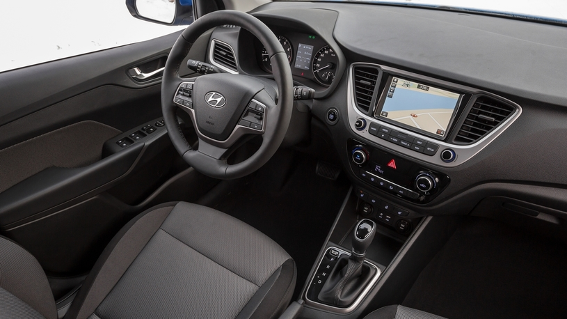 Посчитали-прослезились: мультимедийная система нового Hyundai Solaris