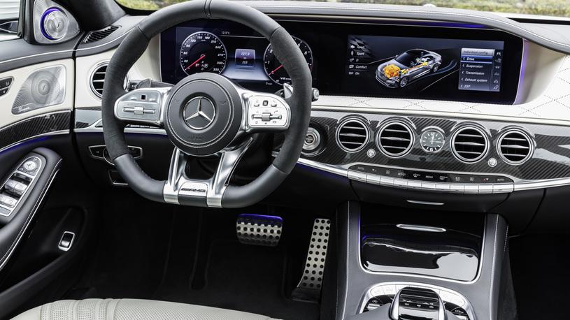 Посчитали-прослезились: новый руль для обновленного Mercedes-Benz S-Класса