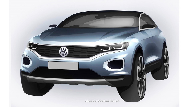 Volkswagen выпустит недорогой компактный кроссовер
