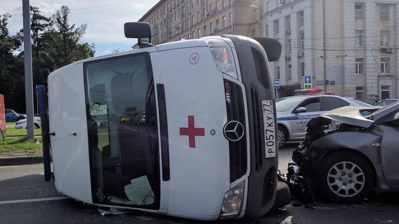 Аварийность в Москве снизилась с