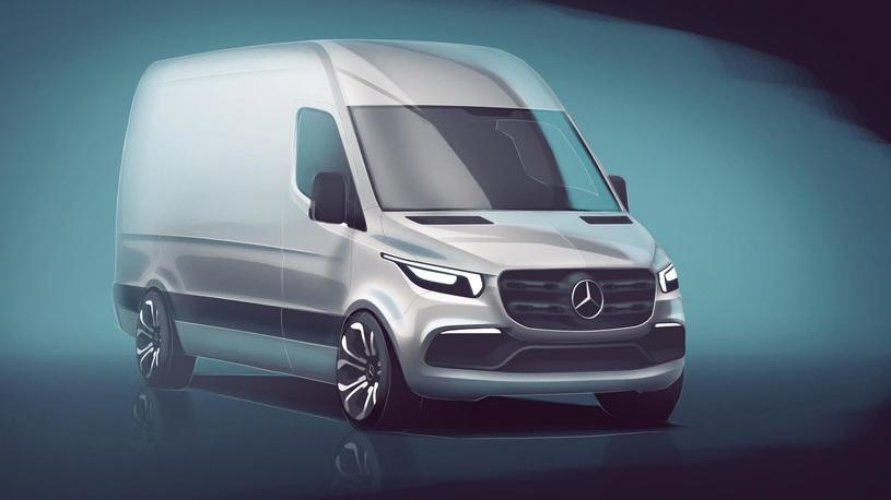 Новейший Mercedes-Benz Sprinter: сроки выхода в России