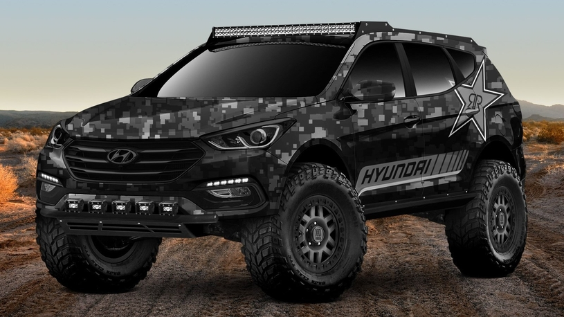Hyundai появится на тюнинг-шоу с экстремальным кроссовером