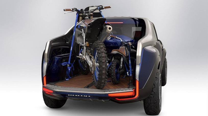 ВЯпонии показали концептуальный автомобиль Yamaha Hub Cross