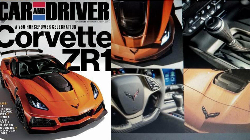 Chevrolet дал послушать новый Corvette ZR1