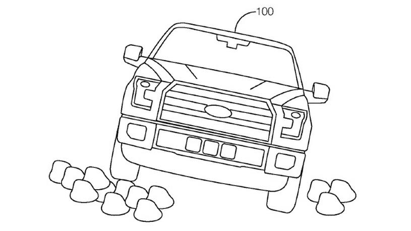 Форд работает над автономной технологией для бездорожья