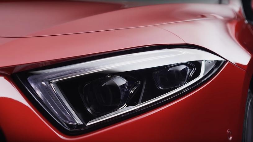 Mercedes-Benz показал первое видео про новый CLS