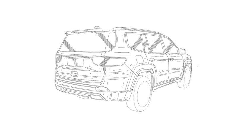 Jeep запатентовал название Grand Commander для огромного джипа