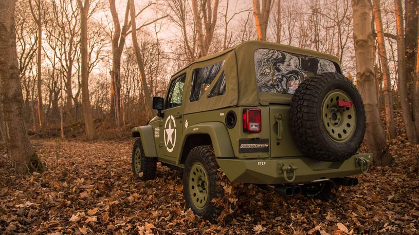 Немецкие тюнеры превратили Jeep Wrangler в старый Willys