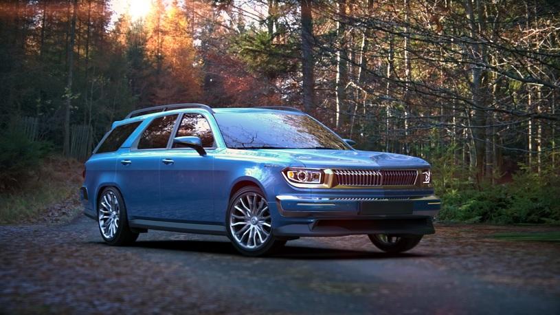Дизайнер продемонстрировал концепт-кар будущего автомобиля «Волга»