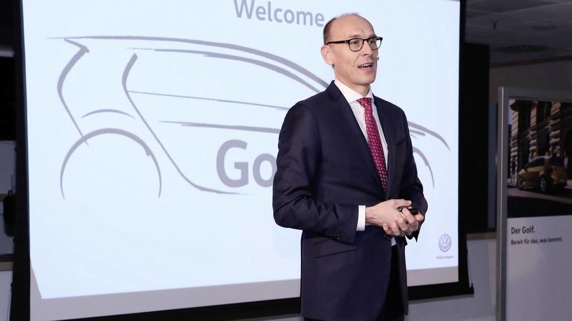 Восьмое поколение Фольксваген Golf появится летом 2019 года