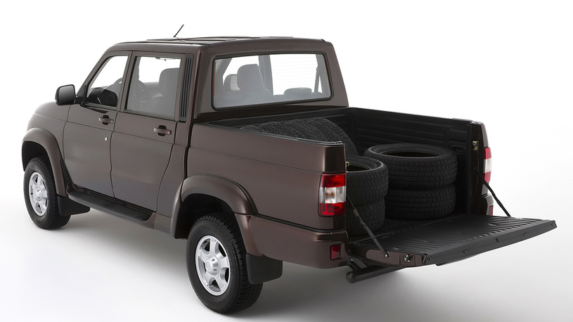 УАЗ «Пикап» стал самой продаваемой моделью всвоём сегменте в Российской Федерации